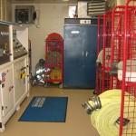 SCBA compressor room