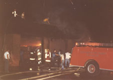 Fort Hunter FD Firehouse Fire 1981