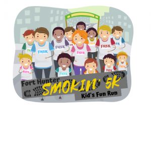Kids logo fun run